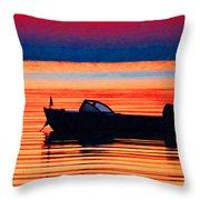 Morningtide Throw Pillow