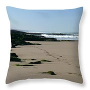 Moroccan Beach Throw Pillow
