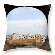Moroccan View Throw Pillow