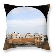 Moroccan View Throw Pillow