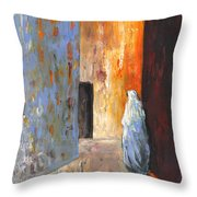 Moroccan Woman 02 Throw Pillow