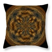 Morphed Art Globe 29 Throw Pillow