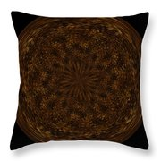 Morphed Art Globe 32 Throw Pillow