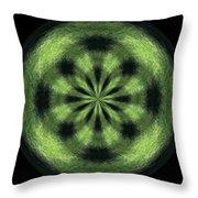 Morphed Art Globe 35 Throw Pillow