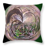 Morphed Art Globe 36 Throw Pillow