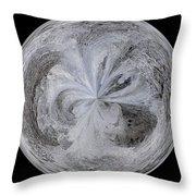 Morphed Art Globe 4 Throw Pillow