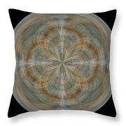 Morphed Art Globes 25 Throw Pillow