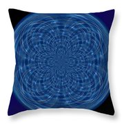 Morphed Art Globes 34 Throw Pillow