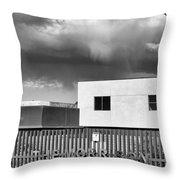 Morrison Cloud Bw Palm Springs Throw Pillow