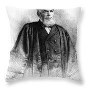 Morrison R Throw Pillow