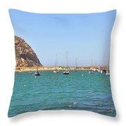 Morro Bay  6968 Throw Pillow