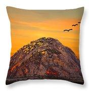Morro Rock 3007 Throw Pillow