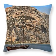Morro Rock Throw Pillow