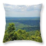 Morrow Mountain  Throw Pillow