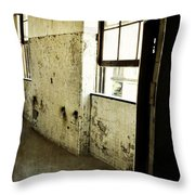 Morton Hotel Interior Throw Pillow