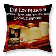 Morton Meets Locke Throw Pillow