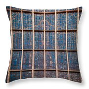 Mosaic Alamo In Glass Throw Pillow