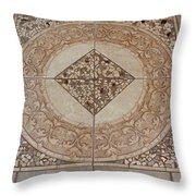Mosaic Works Throw Pillow