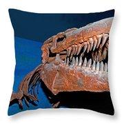 Mosasaur Tylosaurus Proiger Throw Pillow