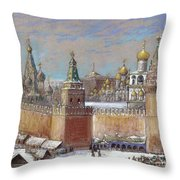 Moscow: Kremlin Throw Pillow