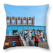 Moscow Kremlin Tour - 02 Of 70 Throw Pillow