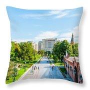 Moscow Kremlin Tour - 04 Of 70 Throw Pillow