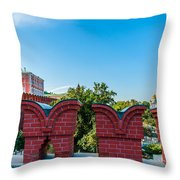 Moscow Kremlin Tour - 06 Of 70 Throw Pillow