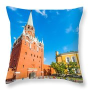 Moscow Kremlin Tour - 08 Throw Pillow