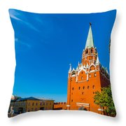 Moscow Kremlin Tour - 13 Of 70 Throw Pillow