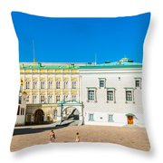 Moscow Kremlin Tour - 28 Of 70 Throw Pillow