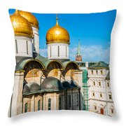 Moscow Kremlin Tour - 31 Of 70 Throw Pillow