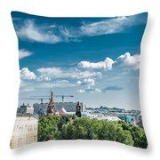Moscow Kremlin Tour - 32 Of 70 Throw Pillow