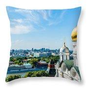 Moscow Kremlin Tour - 33 Of 70 Throw Pillow