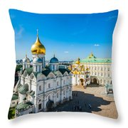 Moscow Kremlin Tour - 34 Of 70 Throw Pillow