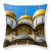 Moscow Kremlin Tour - 38 Of 70 Throw Pillow