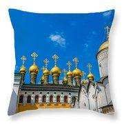 Moscow Kremlin Tour - 42 Of 70 Throw Pillow