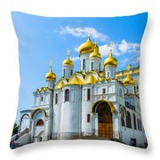 Moscow Kremlin Tour - 45 Of 70 Throw Pillow