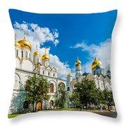 Moscow Kremlin Tour - 57 Of 70 Throw Pillow