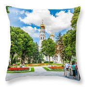 Moscow Kremlin Tour - 59 0f 70 Throw Pillow