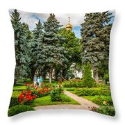 Moscow Kremlin Tour - 60 Of 70 Throw Pillow