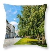 Moscow Kremlin Tour - 69 Of 70 Throw Pillow