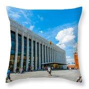 Moscow Kremlin Tour - 70 Of 70 Throw Pillow