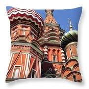 Moscow13 Throw Pillow