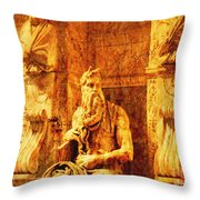 Moses Throw Pillow
