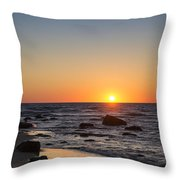 Moshup Beach Sunrise Throw Pillow