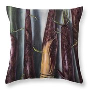 Moso Bamboo  Throw Pillow