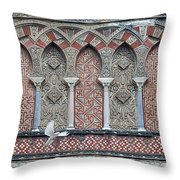 Mosque Cathedral Of Cordoba Also Called The Mezquita Throw Pillow