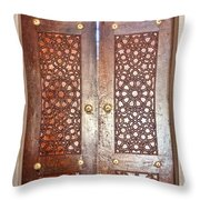 Mosque Doors 03 Throw Pillow
