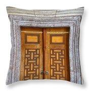 Mosque Doors 05 Throw Pillow