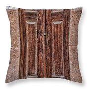 Mosque Doors 08 Throw Pillow